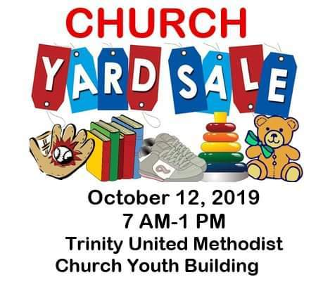 Yard Sale Saturday Flyer