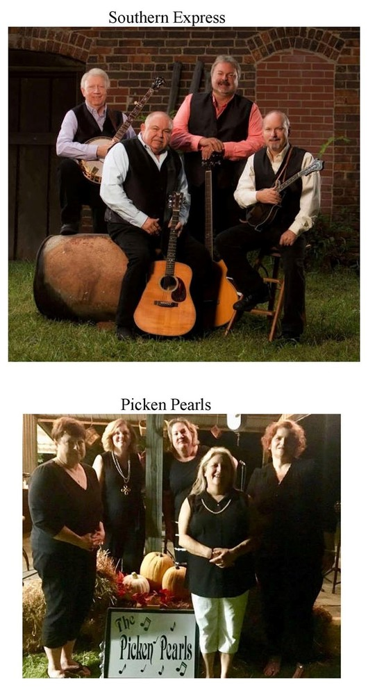 Bluegrass bands perform Nov. 2