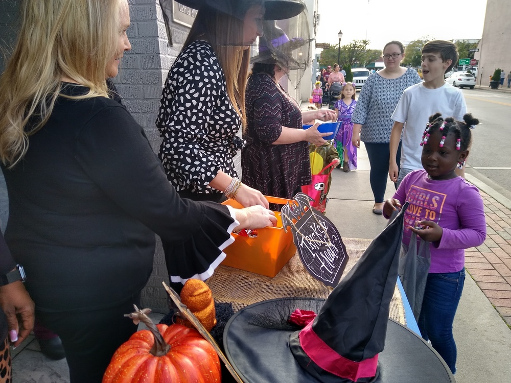 Scene from Scare on the Square