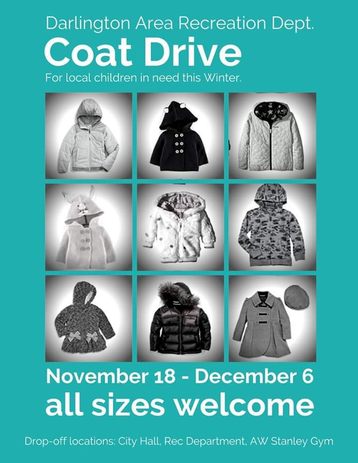 Coat Drive for Holidays