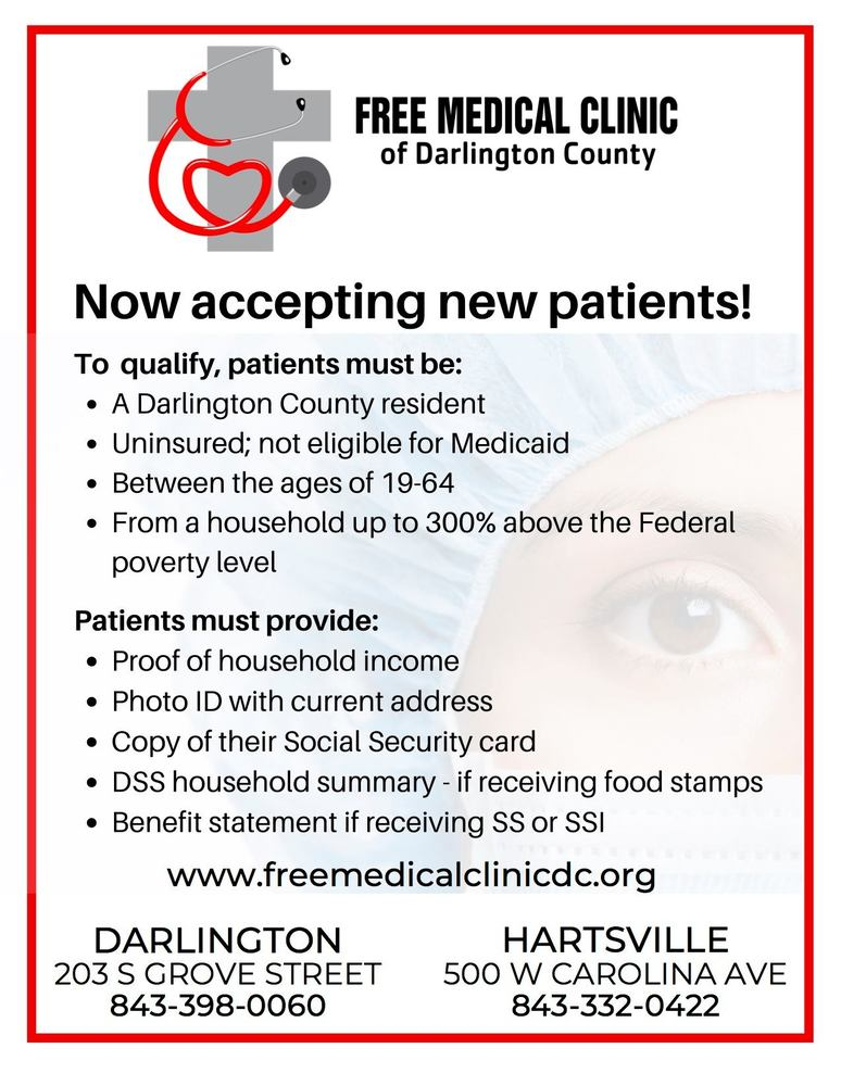 FMCDC new patients flyer
