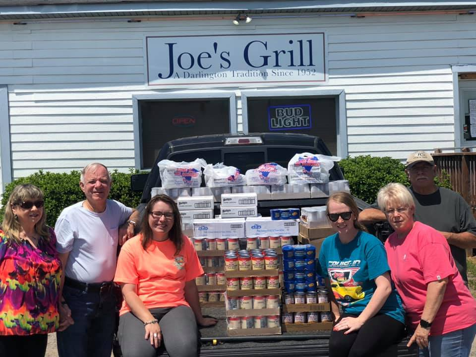 051820 Joes Grill donation