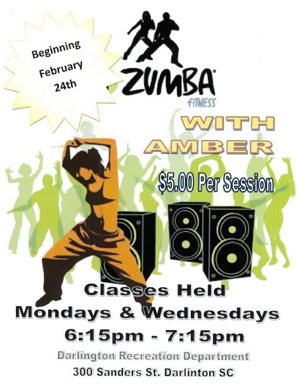 00 REC Zumba Flyer Mon Wed