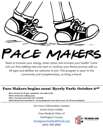 PaceMakers flyer